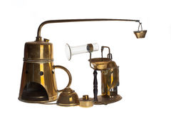 Engrenagem e atomizador destilling médicos imagem de stock royalty free