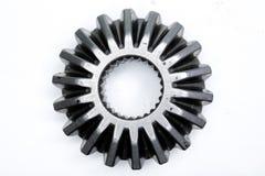 Engrenagem isolada no fundo branco foto de stock