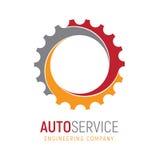 Engrenagem Logo Template Logotype para Fotos de Stock