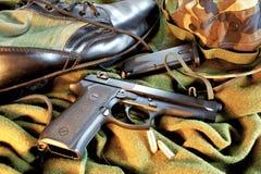 Engrenagem militar Imagem de Stock Royalty Free