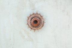 Engrenagem oxidada Imagens de Stock Royalty Free