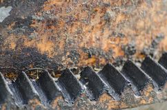 Engrenagem oxidada Foto de Stock Royalty Free