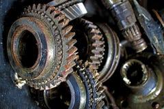 Engrenagem oxidada Imagens de Stock