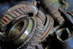 Engrenagem oxidada Fotografia de Stock
