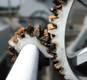 Engrenagem oxidada Fotografia de Stock Royalty Free