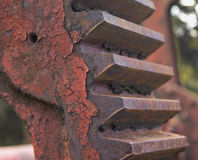 Engrenagem oxidada Fotos de Stock Royalty Free
