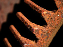 Engrenagem oxidada velha. Detalhe II fotografia de stock
