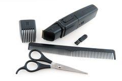 Engrenagem para o aparelhador do cabelo fotografia de stock royalty free