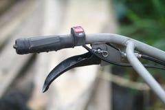 Engrenagem velha da bicicleta Fotografia de Stock