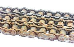 Engrenagens Chain velhas Imagens de Stock