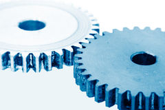 Engrenagens como o conceito industrial foto de stock