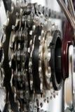 Engrenagens da bicicleta Imagens de Stock