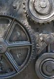 Engrenagens das rodas denteadas dos navios Fotografia de Stock Royalty Free