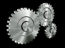 Engrenagens de alumínio Imagens de Stock