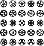 Engrenagens de Steampunk ilustração royalty free