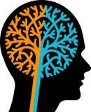 Engrenagens do cérebro Imagens de Stock Royalty Free
