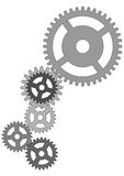 Engrenagens do mecanismo imagem de stock royalty free