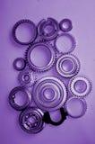 Engrenagens do metal Fotografia de Stock Royalty Free