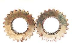 Engrenagens do metal Fotos de Stock Royalty Free