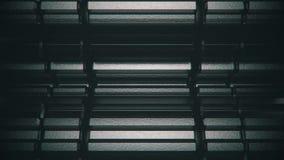 engrenagens do metal 3D que giram em Loop-4 filme