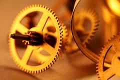 Engrenagens do ouro Imagem de Stock Royalty Free