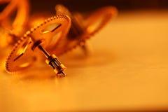 Engrenagens do ouro Foto de Stock Royalty Free