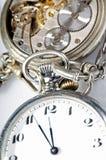 Engrenagens do relógio imagens de stock royalty free