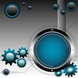 Engrenagens e esferas Foto de Stock Royalty Free