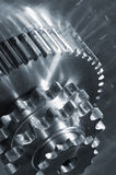 Engrenagens industriais, idéia conceptual Foto de Stock Royalty Free