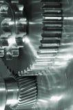Engrenagens industriais na ação Foto de Stock
