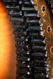 Engrenagens lubrificadas Fotos de Stock Royalty Free