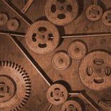 Engrenagens oxidadas Imagem de Stock