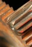 Engrenagens oxidadas fotografia de stock