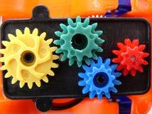 Engrenagens plásticas Imagens de Stock