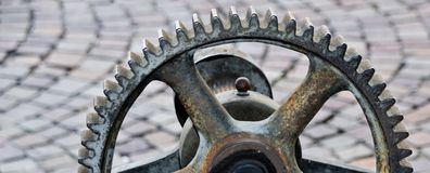 Engrenagens velhas do ferro Foto de Stock Royalty Free