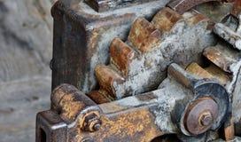 Engrenagens velhas do ferro Fotografia de Stock
