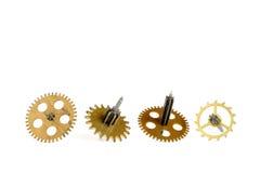 Engrenagens velhas do maquinismo de relojoaria Imagem de Stock Royalty Free