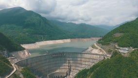 Enguridam, hydroelektrische centrale stock footage