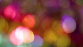 enhaced lampor för blurbokeh jul lager videofilmer
