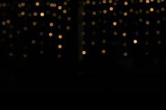 enhaced lampor för blurbokeh jul Arkivfoton