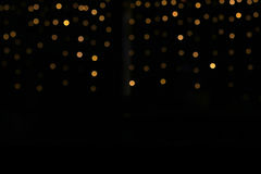 Enhaced Unschärfe der Leuchten Stockfotos