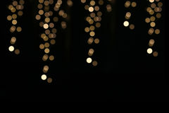 Enhaced Unschärfe der Leuchten Lizenzfreies Stockbild