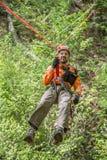 Enhet för NJSAR-bergräddningsaktion Arkivbilder