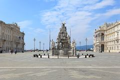Enhet fyrkantiga Trieste Royaltyfri Bild