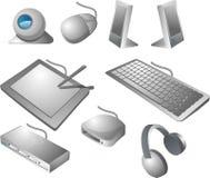 enheter för dator Fotografering för Bildbyråer