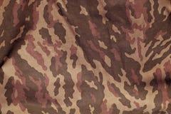 Enhetlig modell för röd och brun militär kamouflage Royaltyfria Foton