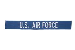 Enhetligt emblem för USA-FLYGVAPEN arkivbilder