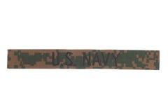 Enhetligt emblem för USA-MARIN arkivfoton