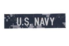 Enhetligt emblem för USA-MARIN arkivfoto