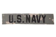 Enhetligt emblem för USA-MARIN arkivbild